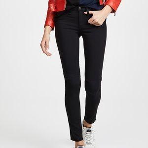 Rag and bone black the plush legging skinny jean